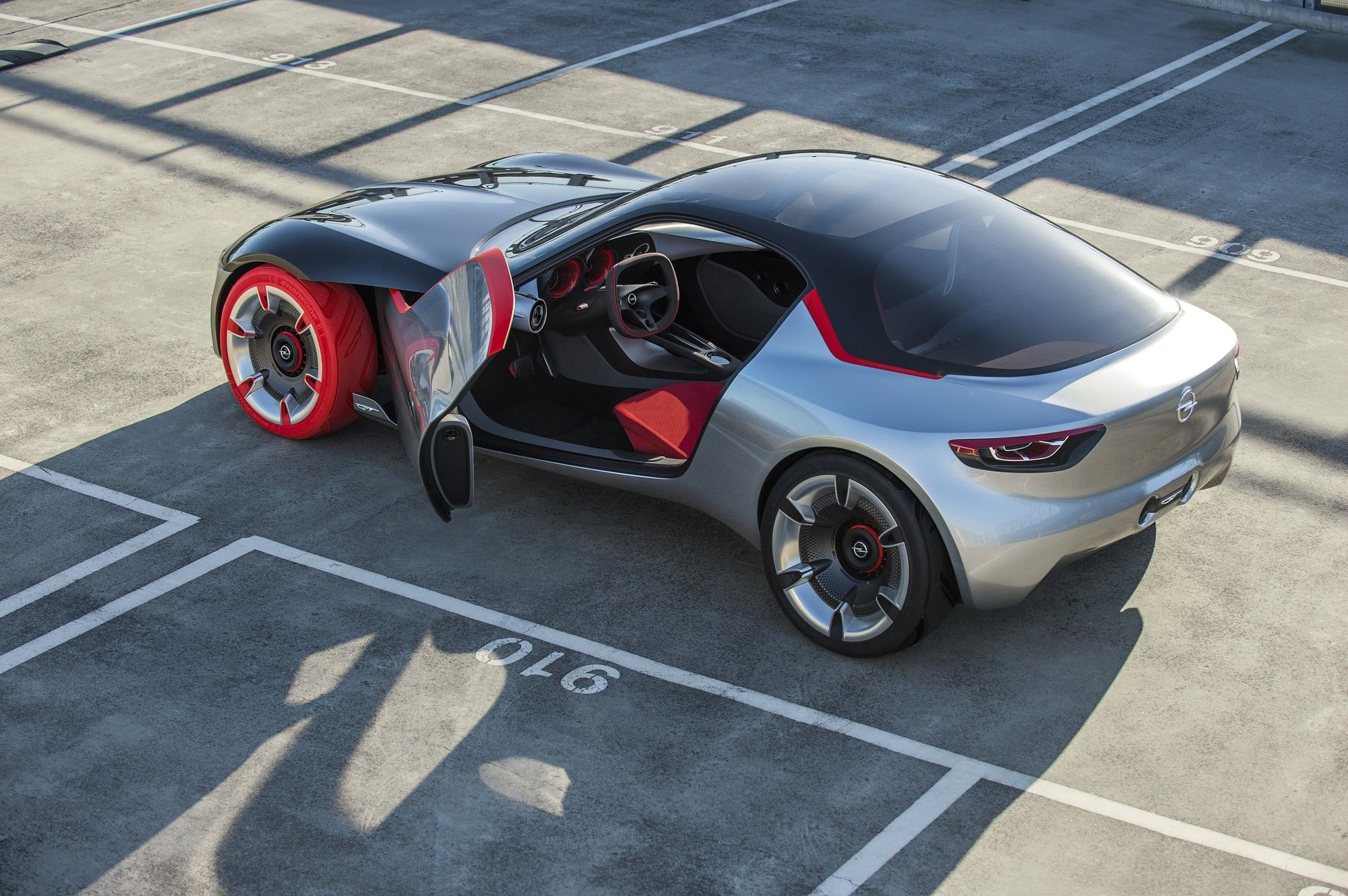 Pin On Opel Gt Concept