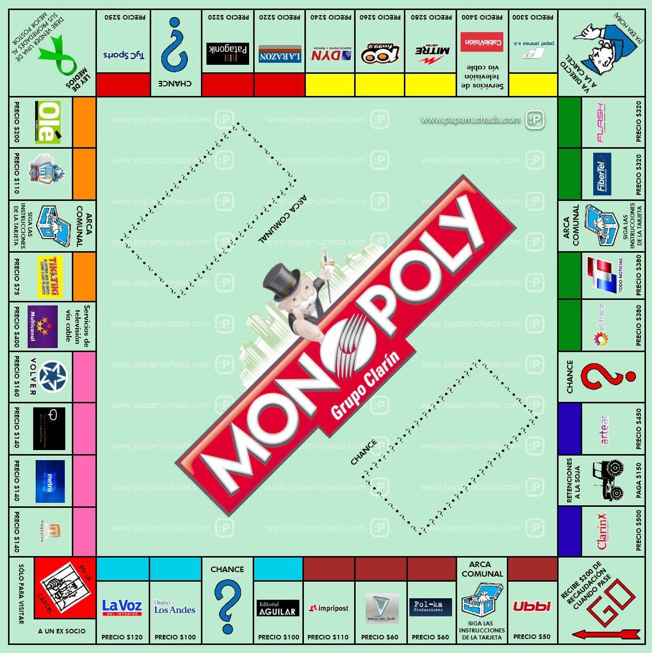 Siempre Mejorara Su Habilidad Monopoly Cards Monopoly Cards