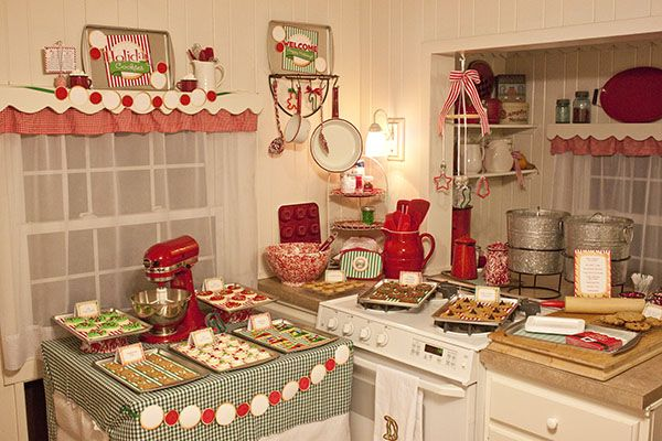 inspiration mrs claus kitchen the most wonderful time of the