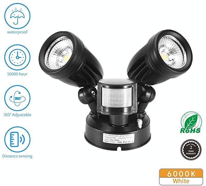 Led Sensor Outdoor Lights Comaie