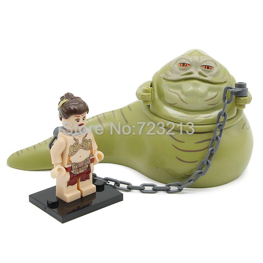 Unique Vente Star Wars Figure Jabba Le Hutt Princesse Leia Tauntaun
