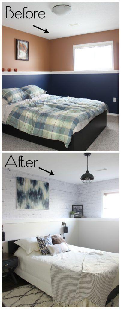 One Room Challenge {Week Six} - Modern Industrial Bedroom - Love Create Celebrate #homestagingavantapres