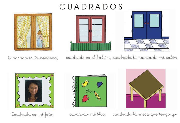 Picasa En Educacion Infantilazorin Poesias Y Canciones Figuras Geometricas Para Preescolar Actividades De Figuras Geometricas Actividades De Forma