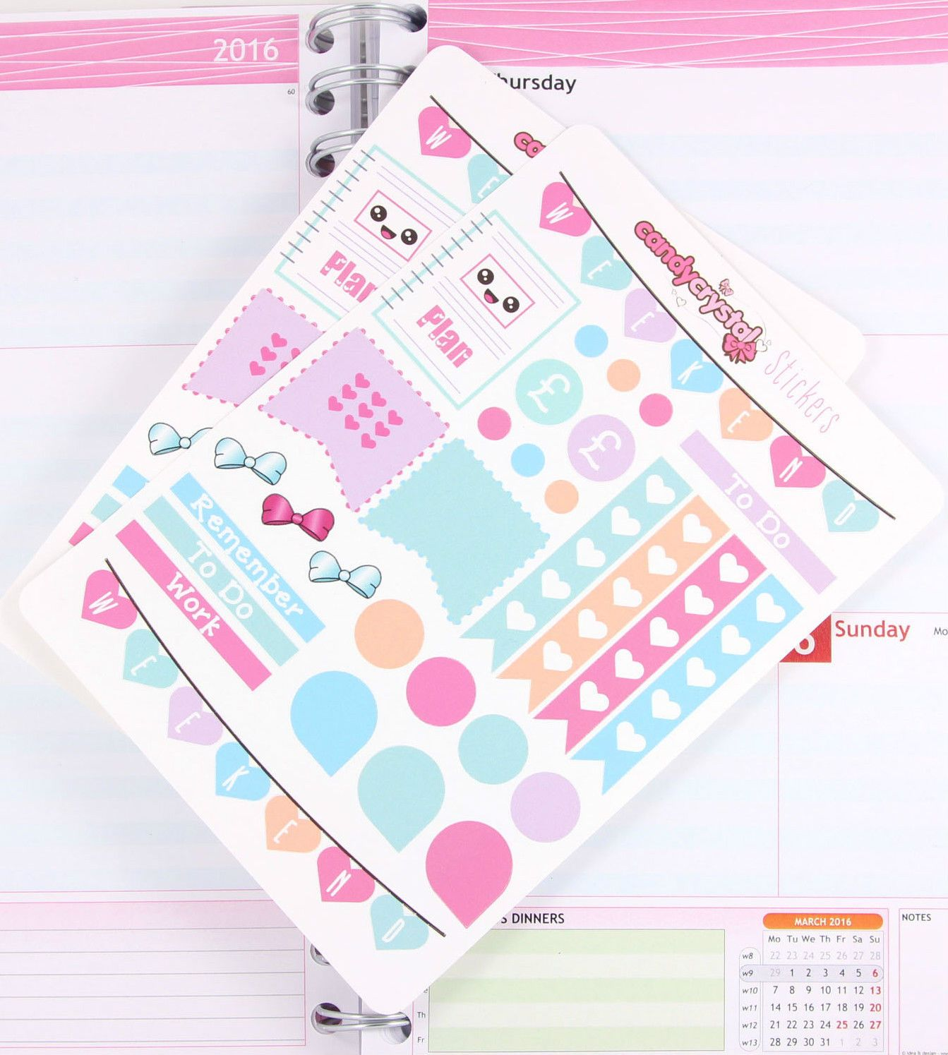 cute kawaii planner sticker sheets unique planner stickers that