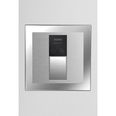 Toto Sensor Toilet Flush Valve Back Spud Wall Stainless Steel Screen Flush Toilet Wall Installation