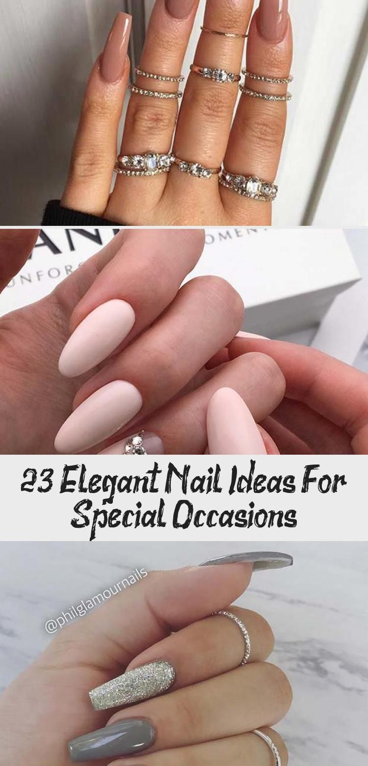 Photo of 23 Elegant Nail Ideas For Special Occasions – Beauty