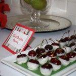 Whte Chocolate Cherries