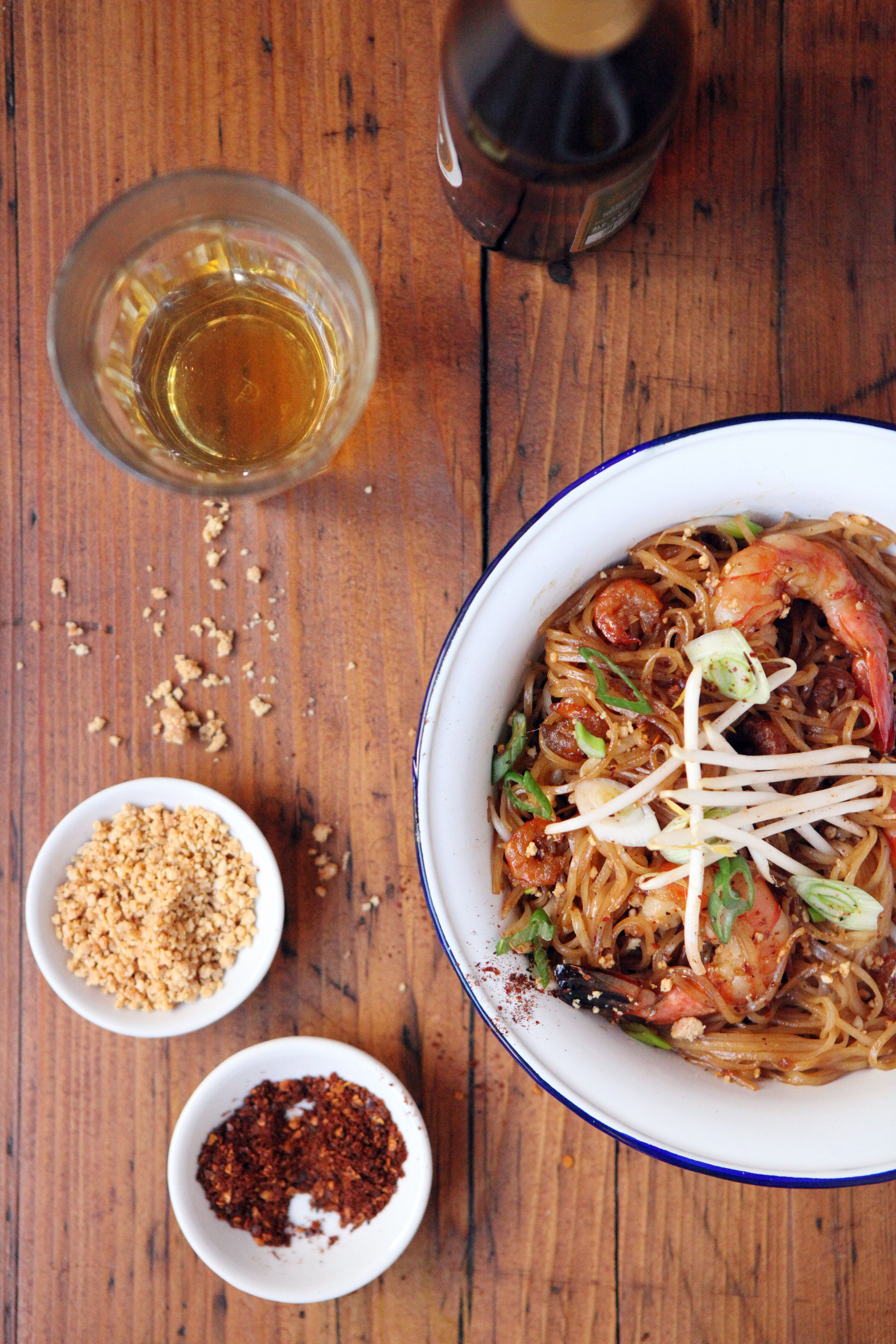 Pad Thai at Rosas ©Alex Maguire Photography www.alexmaguirephotography.com