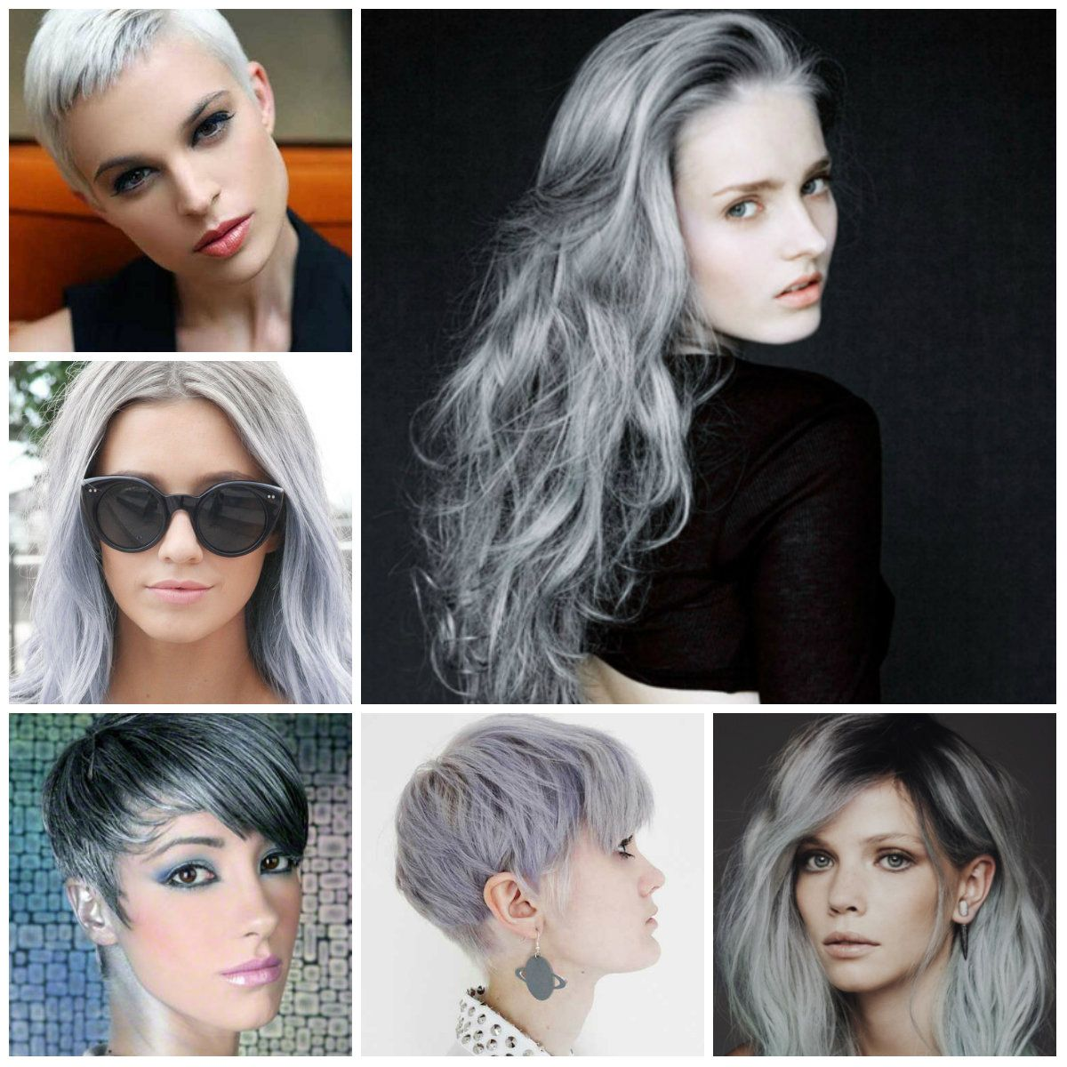 silver hair color 2016 mood board pinterest hair hair styles and hair cuts. Black Bedroom Furniture Sets. Home Design Ideas