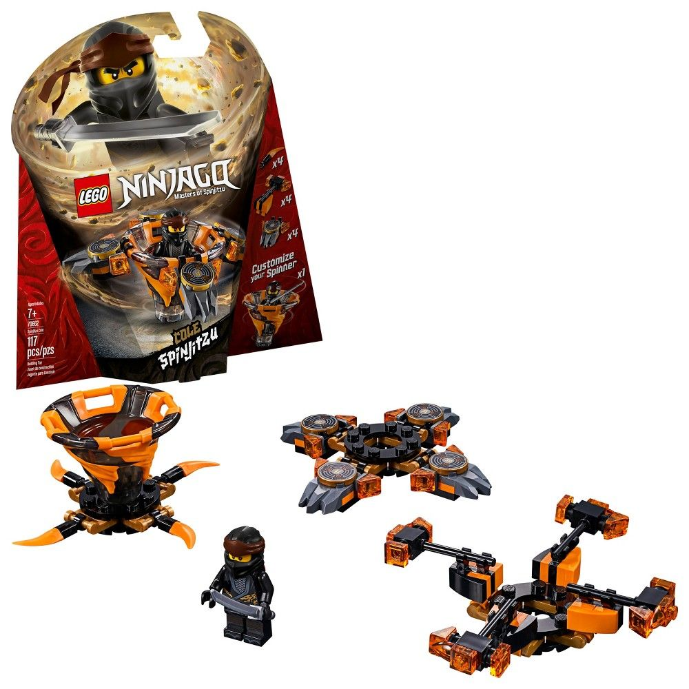 70661, 109 Pieces LEGO Ninjago Spinjitzu Zane Building Kit