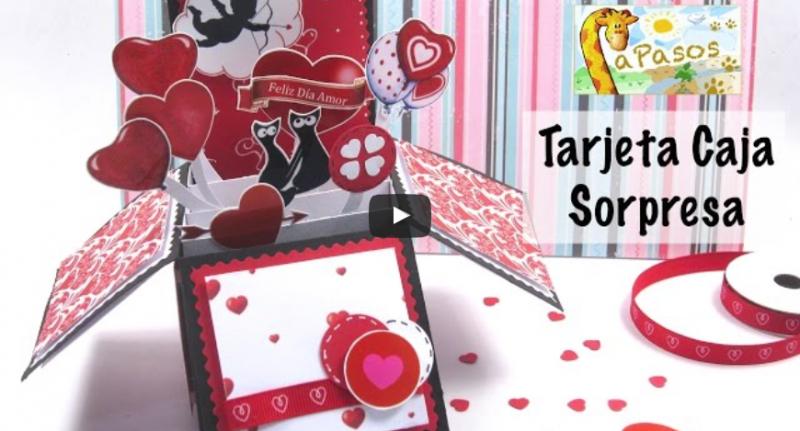 Tarjeta Caja Sorpresa Manualidades Apasos In 2021 Birthday Cards Cards Paper Crafts