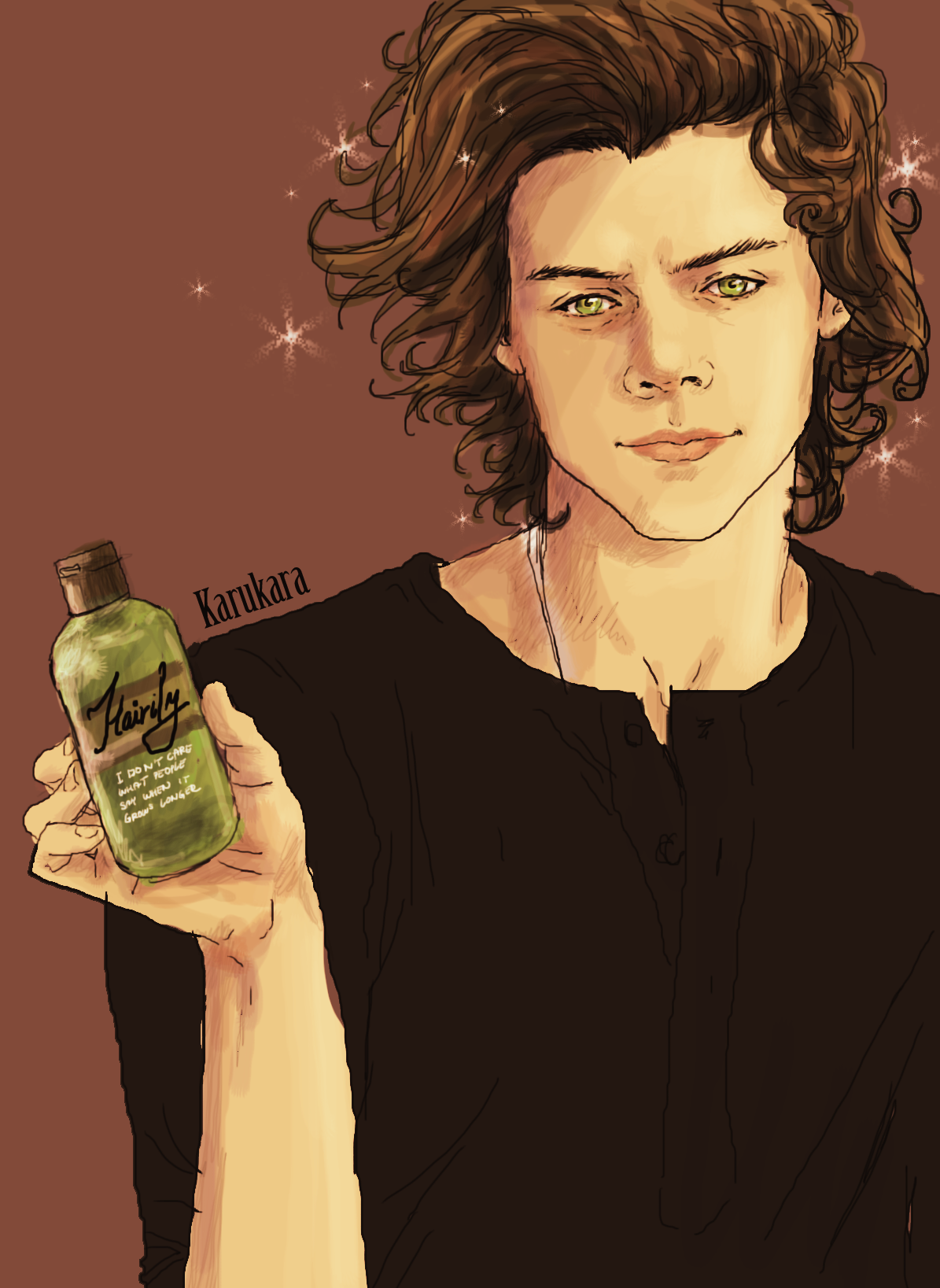 Pin By Ria Morgan On Harry Styles Long Hair Styles Hair Deviantart