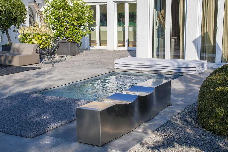 kleiner pool im garten der minipool oder c side pools wasser fische garden und garten. Black Bedroom Furniture Sets. Home Design Ideas
