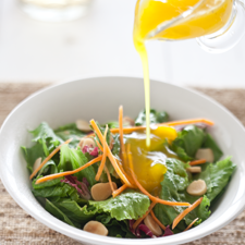 Ensalada Oriental con Vinagreta de Mango | Recetas Gourmet
