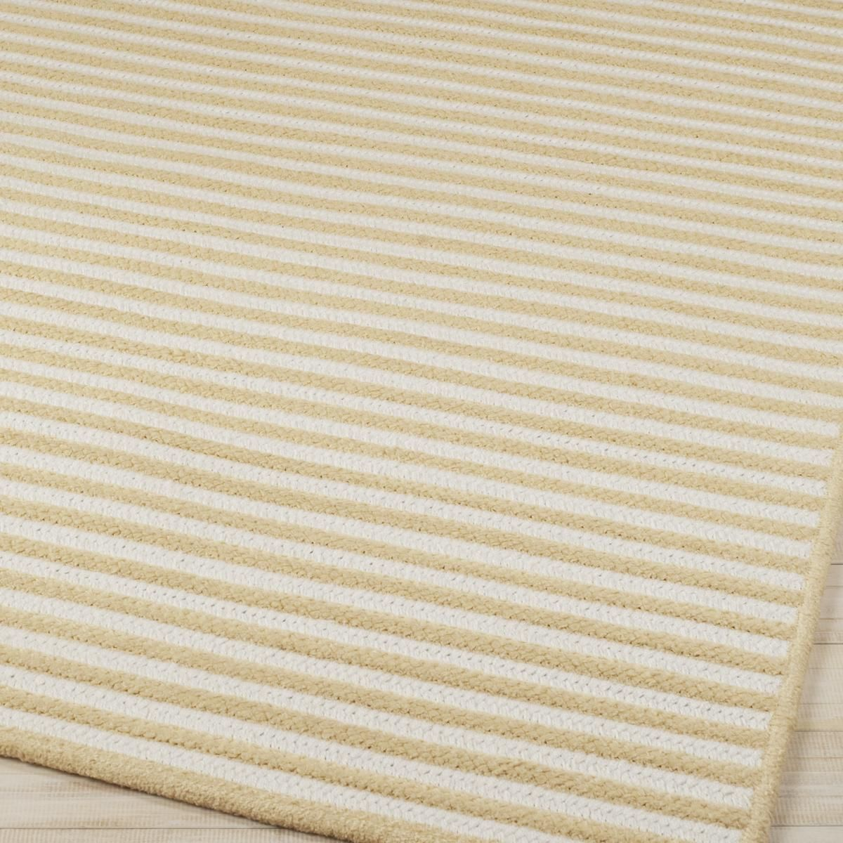 Stripe Chenille Braided Rug 5 Colors