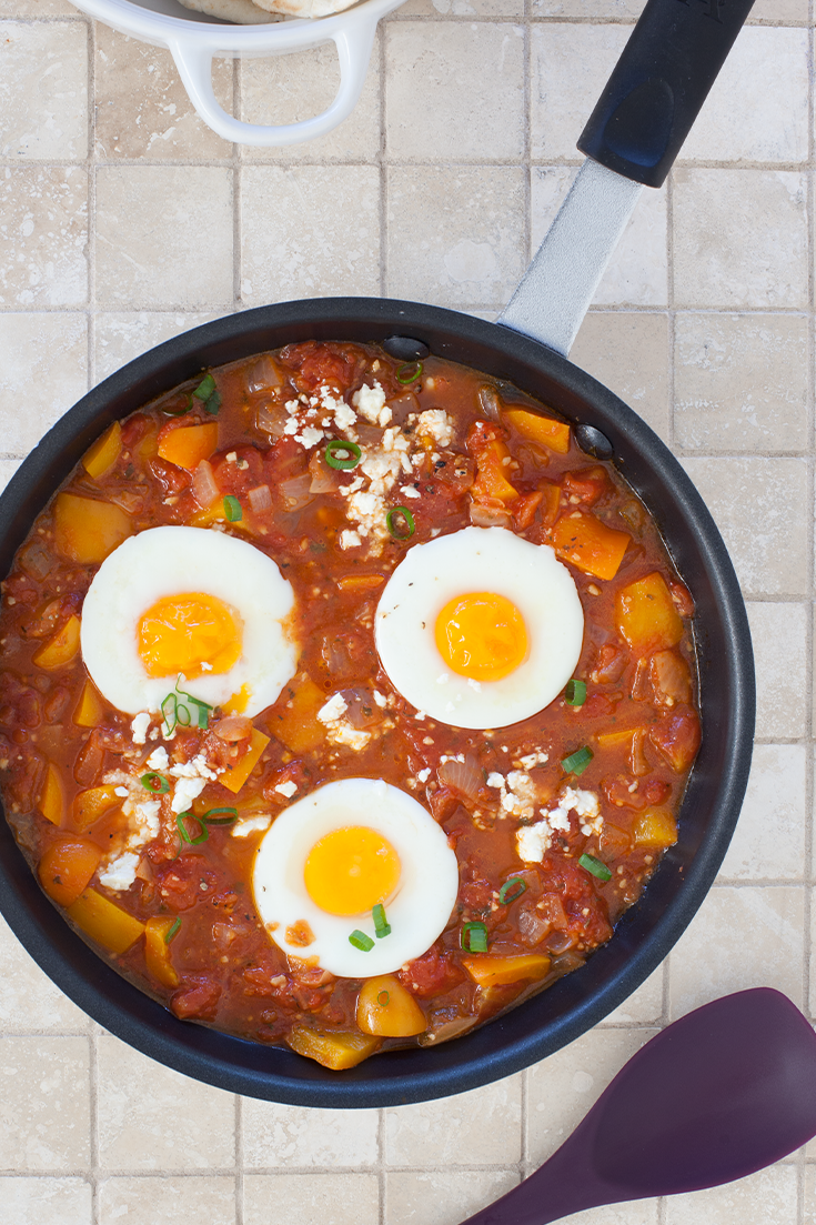 #Epicure Shakshouka—Enjoy with warm pita for dipping!