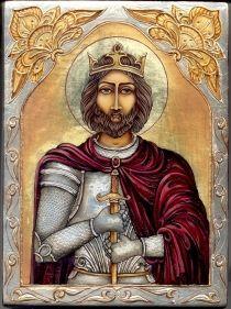 Árpádházi Szent László király - King St. Laszlo  - Kőnig St. Laszlo http://www.ikonfestes.hu