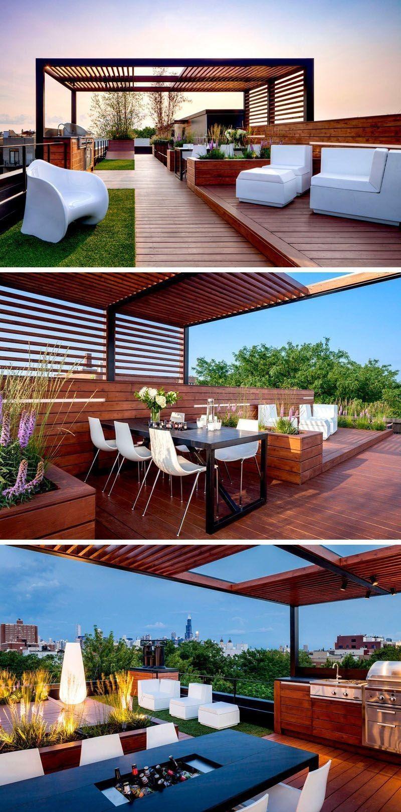 Modern Interior House Design Trend For 2020 屋上庭園 パティオデザイン パティオ