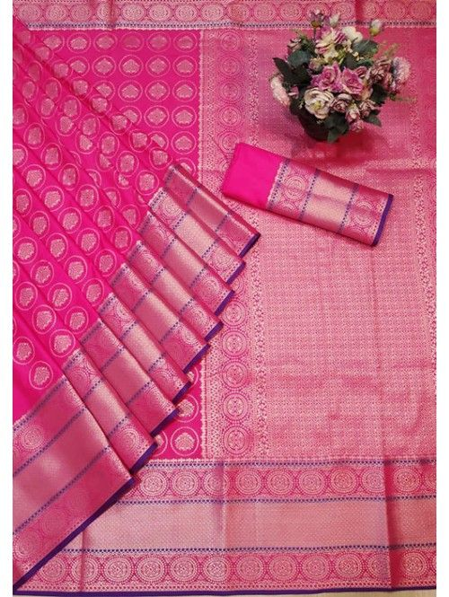 1550 Free Shipping SKU  gnp005764  Banarasi Silk Saree Jacquard With Rich Pallu  1550 Free Shipping SKU  gnp005764  Banarasi Silk Saree Jacquard With Rich Pallu  Visit No...