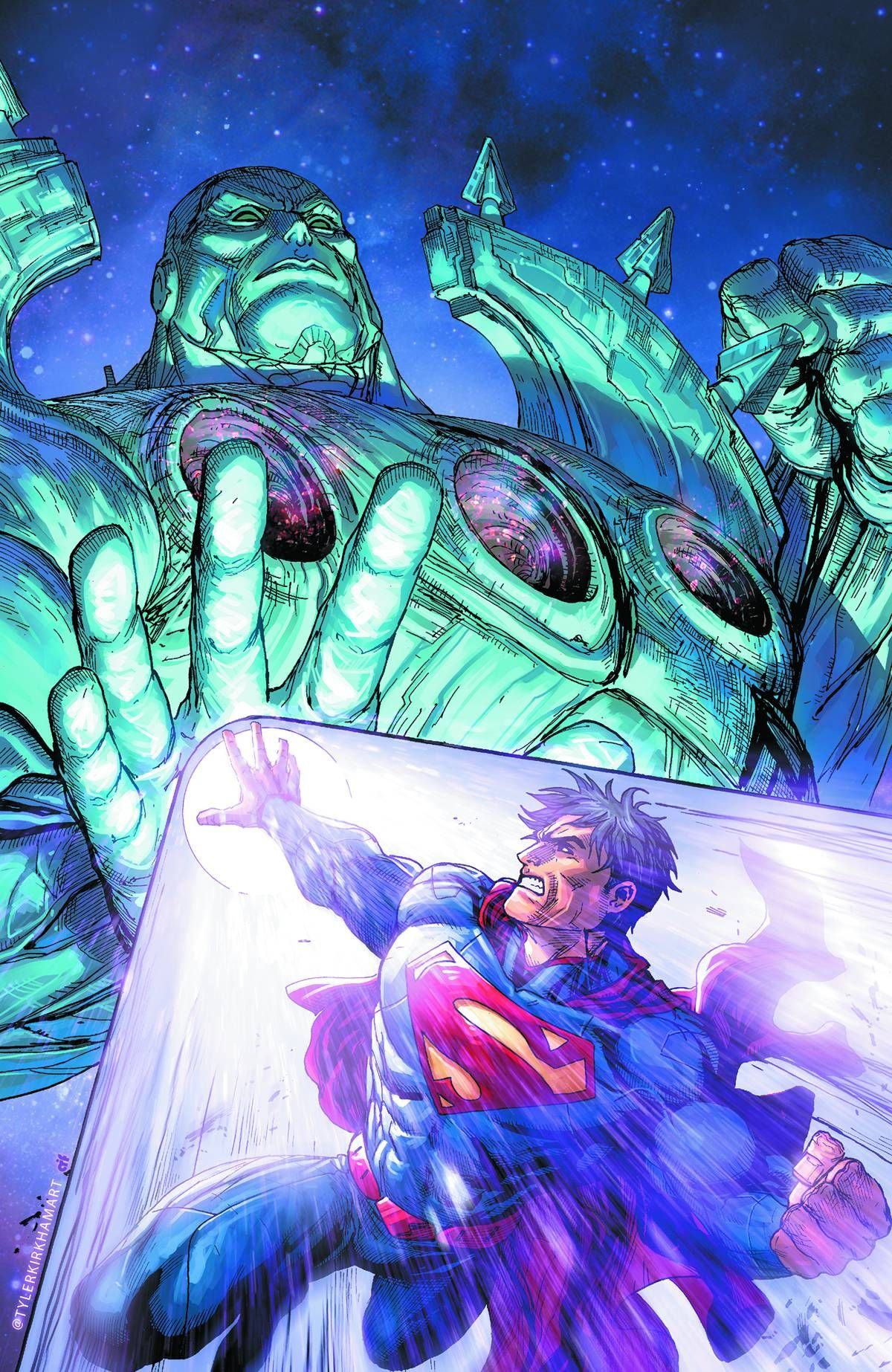 Superman: Action Comics - Psi War, Pt.2 (Virgin Cover)