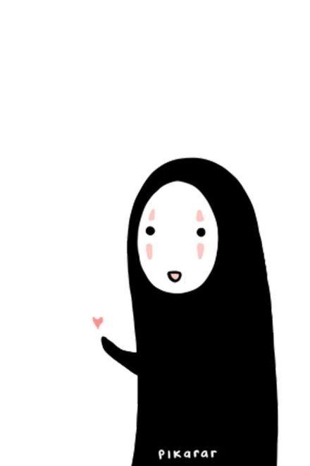 Spirited Away No Face カオナシ El Viaje De Chihiro Ilustraciones Artisticas Fondos De Pantalla Chistosos