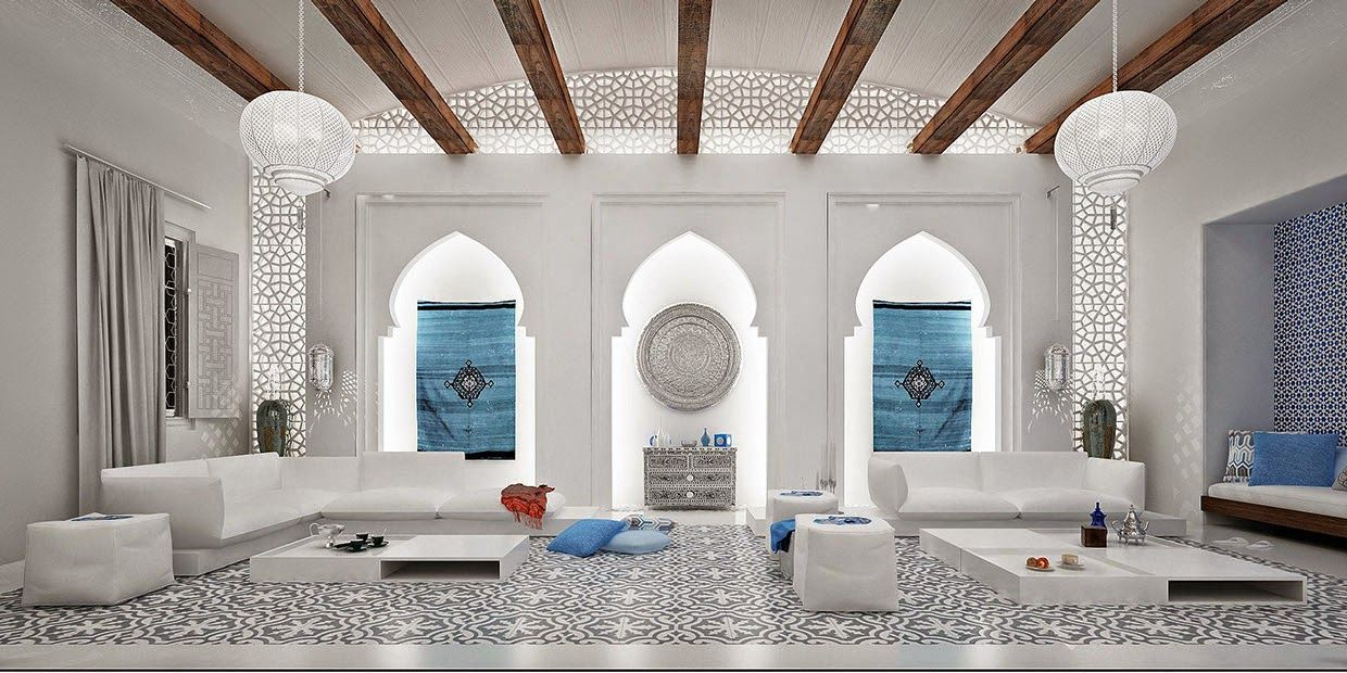 design-dautore Moroccan accent Interiors Pinterest