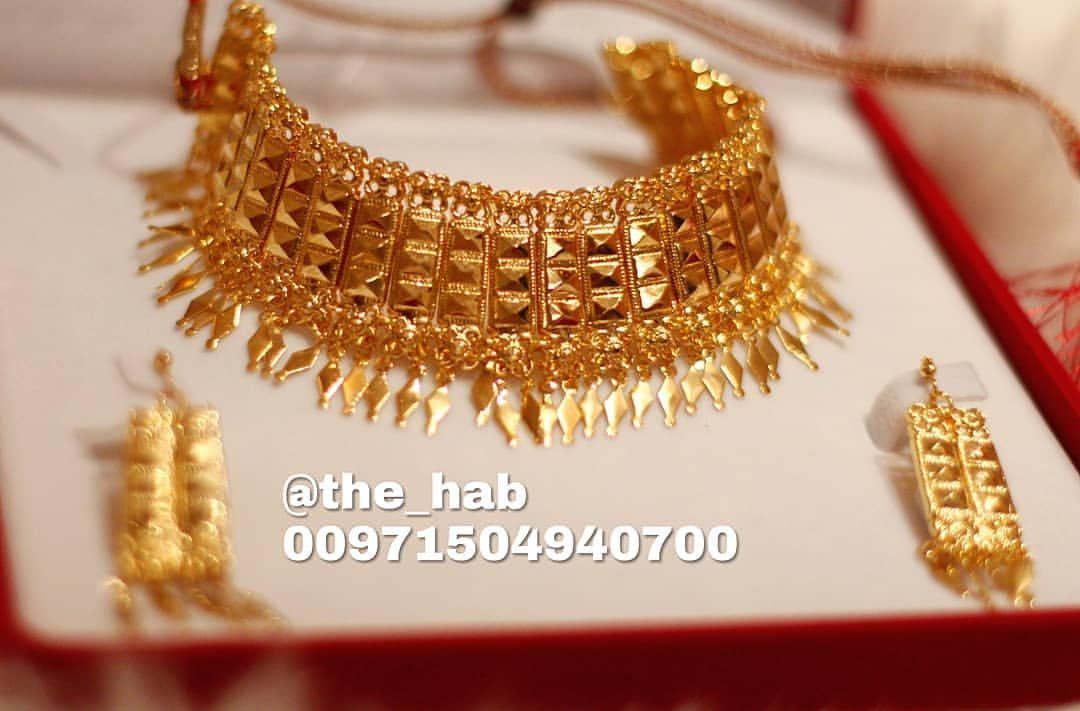 الخناقي رقم ٥ السعر ١٥٠ درهم متوفر للتسليم الفوري قبل العيد لداخل الامارات للطلب على الواتس اب فقط 00971504940700 Gold Necklace Gold Jewelry
