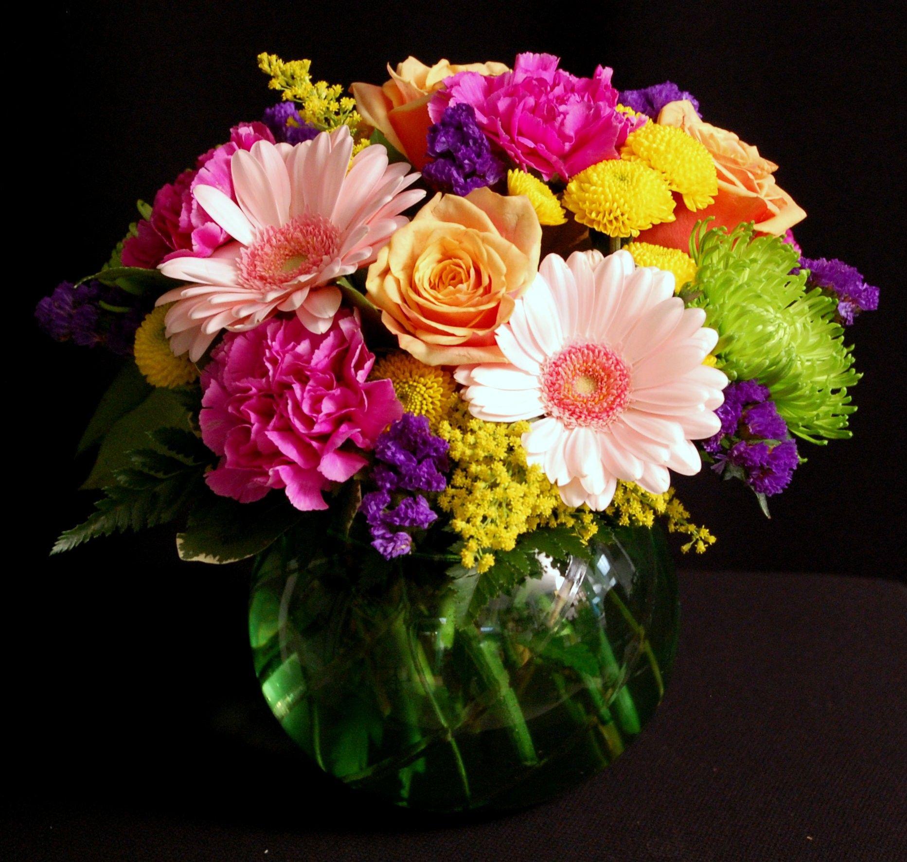 Celine bright floral arrangement. Wedding inspiration