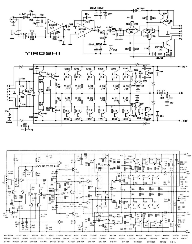 Diagramas De Amplificadores Yiroshi 2