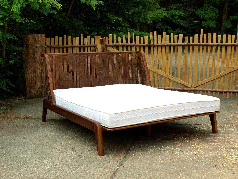Bettvariante B Bett Minimalistisches Bett Bett Eiche