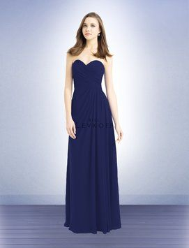 54789ae3307 Marine (Navy) Chiffon Style 732 Traditional Bridesmaid Mob Dress ...