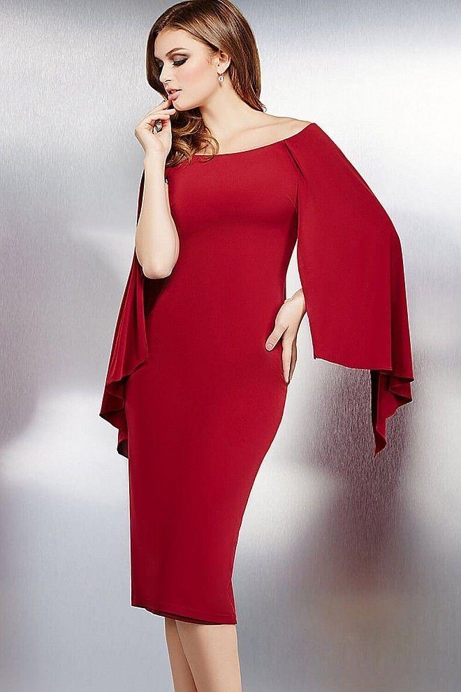 Cocktailkleid 2017 Manou | Rote Kleider online kaufen | Entdecke ...