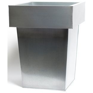 Buy Cadix Luna Metal Square Planter - 35cm at Argos.co.uk ... on urn planters, old planters, pewter planters, long rectangular planters, large planters, chrome planters, resin planters, bucket planters, plastic planters, corrugated raised planters, round corrugated planters, wall mounted planters, copper finish planters, iron planters, tall planters, aluminum planters, stone planters, stainless steel planters, window boxes planters, lead planters,