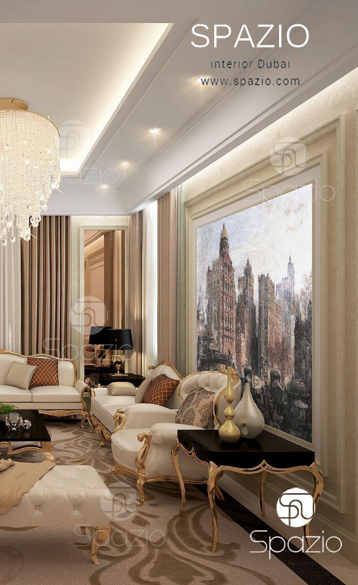 Majlis interior design in Dubai | Luxury interior ...