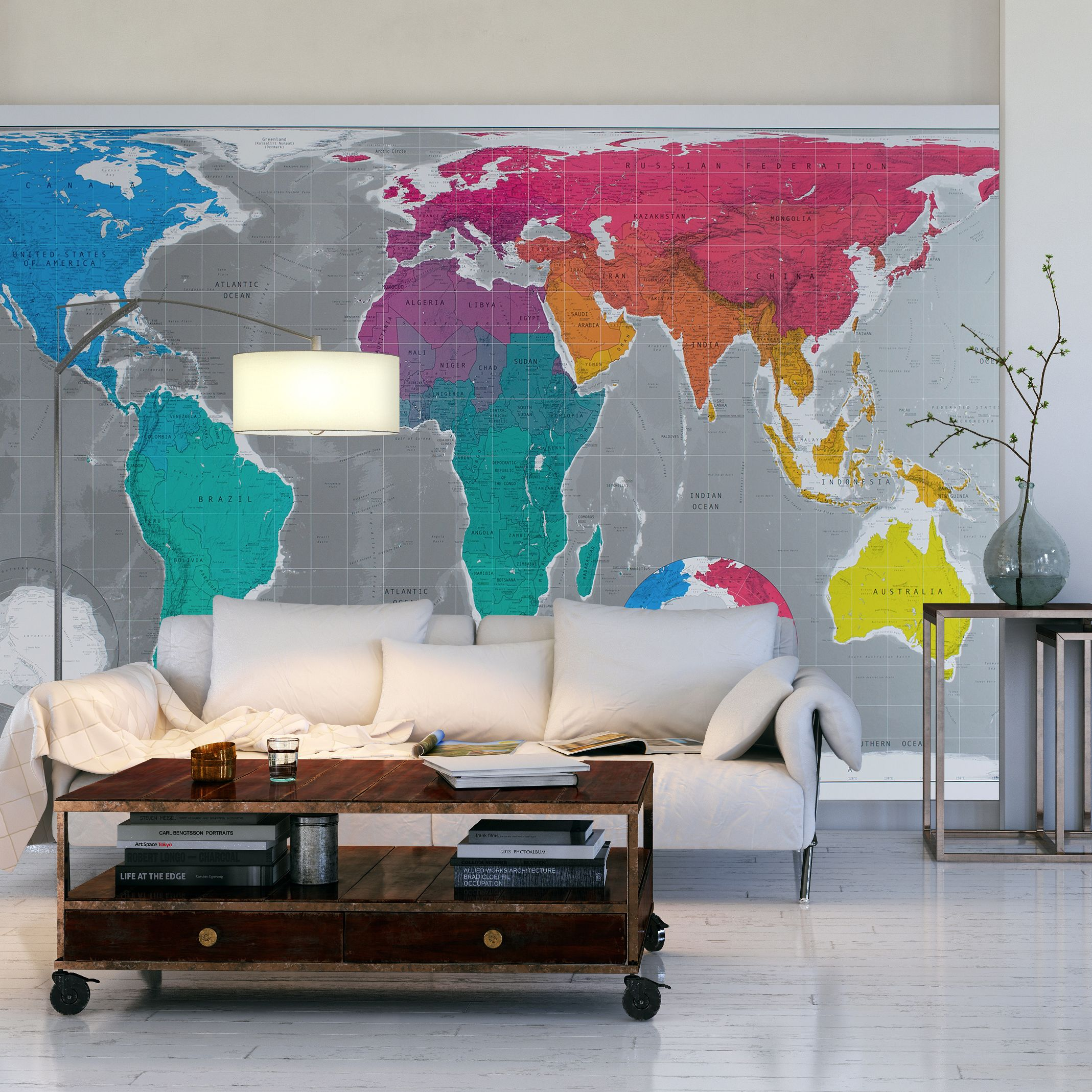 Feel like giving your interiors a make over all 30 of our maps are modern map wallpaper gumiabroncs Image collections