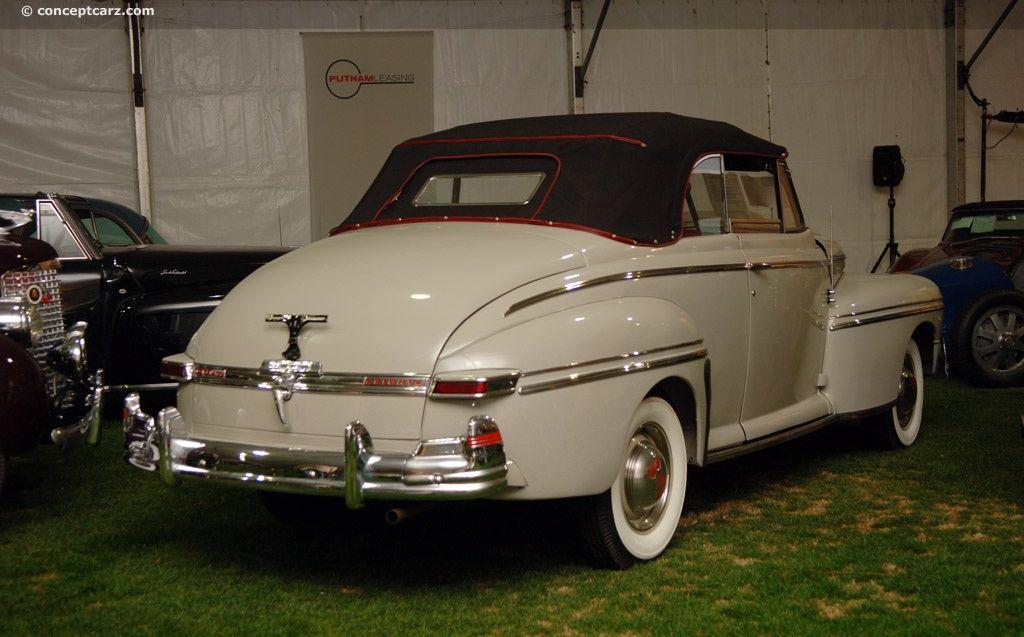 1946 Mercurio Serie 69M (convertible) | Conceptcarz.com
