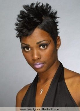 Remarkable Mohawks Going Out And Haircuts On Pinterest Short Hairstyles For Black Women Fulllsitofus