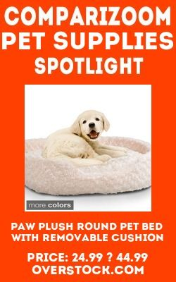 New Release Or Price Change Pet Supplies Product Paw Plush Round Pet Bed With Removable Cushion From Pet Supplies On Comparizoom C With Images Pet Supplies Pets Pet Bed
