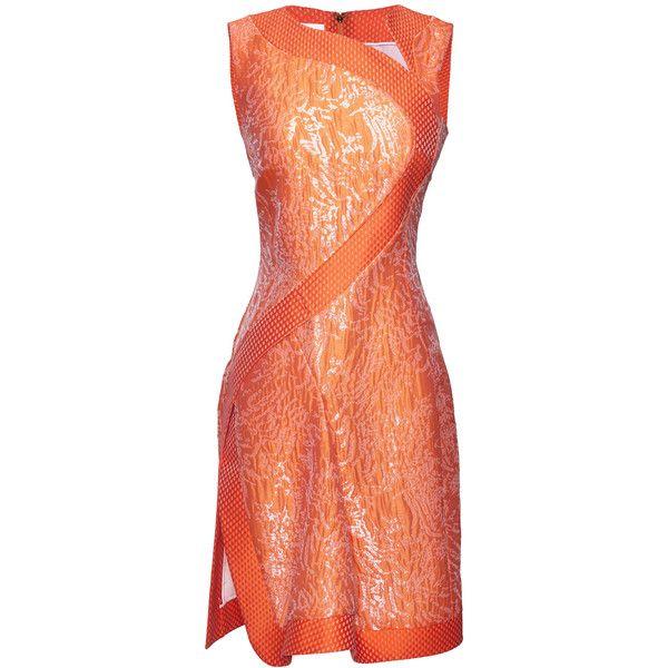 Antonio Berardi Light Orange Asymmetric Cocktail Dress (3 050 AUD ...
