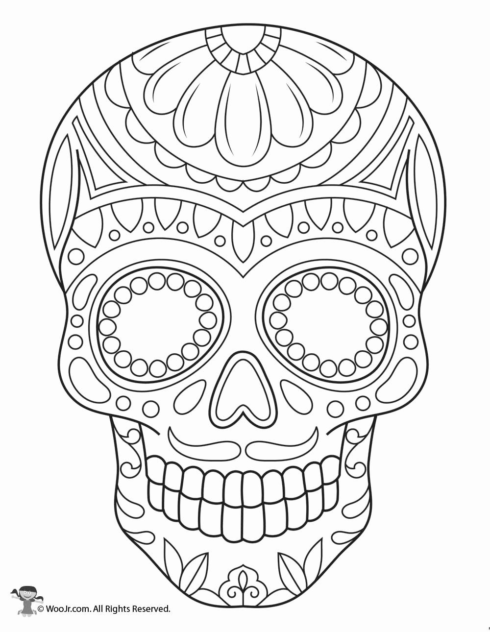 Print Skull With Guns Flowers Coloring Pages Skull Coloring Pages Heart Coloring Pages Free Coloring Pages