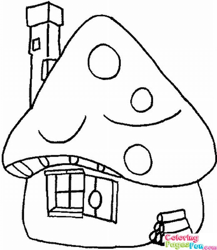 free coloring pages smurf - photo#30