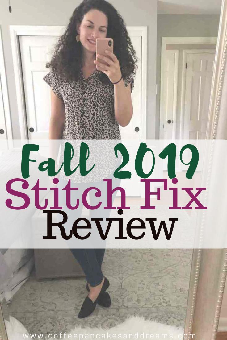 Stitch Fix Fall 2019 Review #stitchfix Stitch Fix Box September Unboxing #review #stitchfixstyle #fallouttfits #october #stitchfix