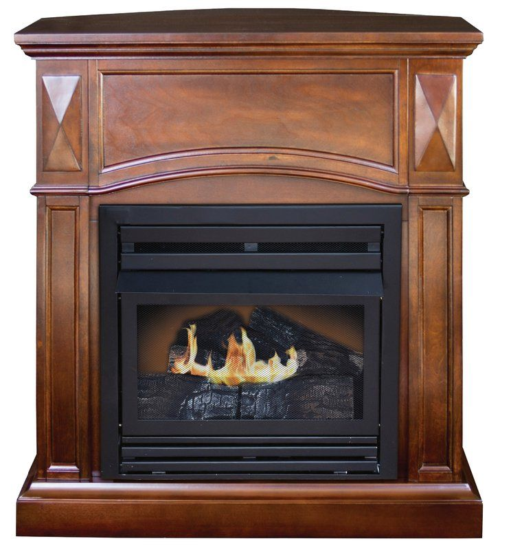 Belmont compact ventfree natural gaspropane fireplace