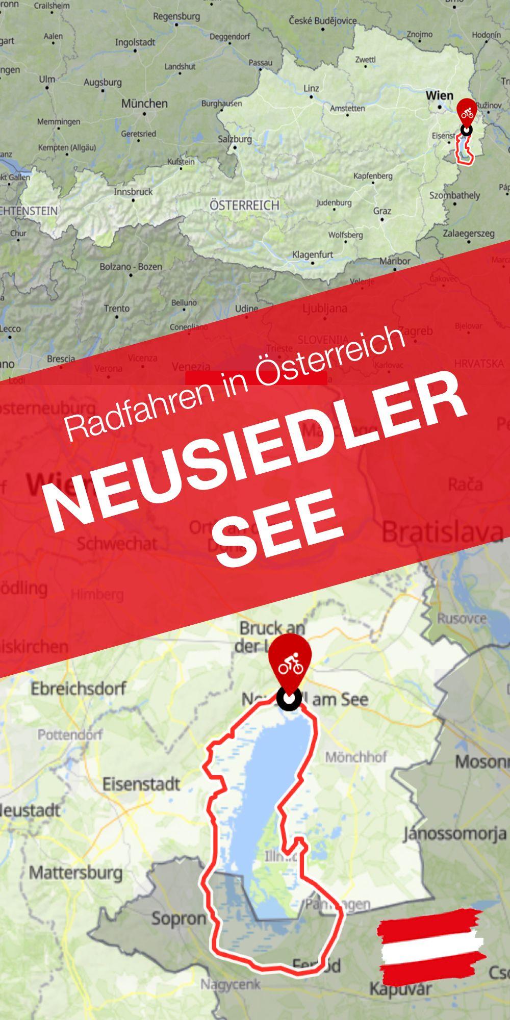 Radfahren Um Den See Der Neusiedler See Radweg In Osterreich