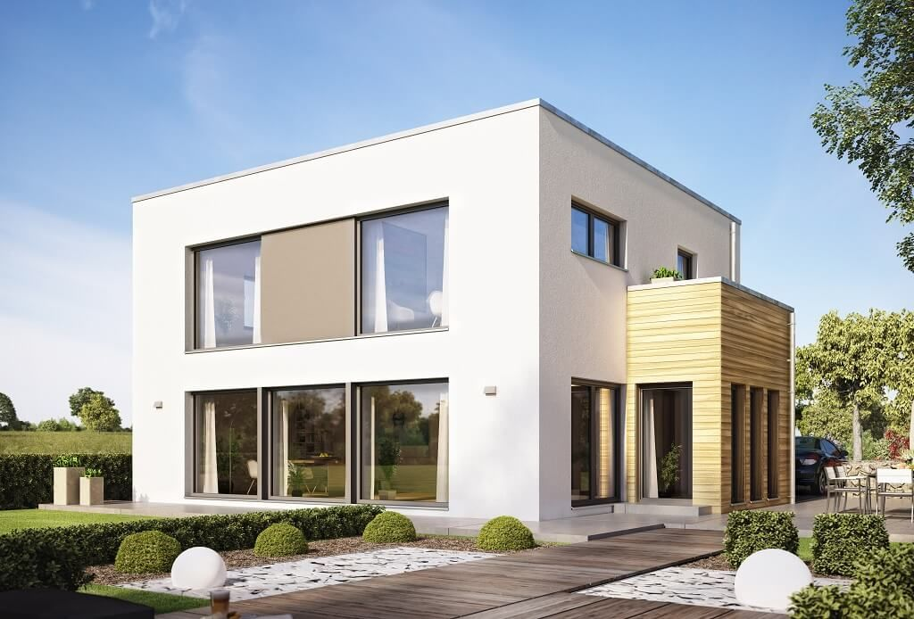 Bauhaus Oranienburg evolution 154 v9 bien zenker http hausbaudirekt de haus