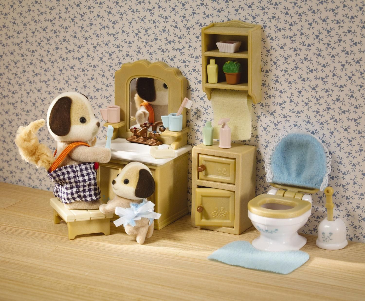 Calico Critters Deluxe Bathroom Set Furniture