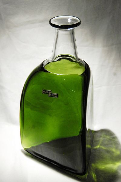 Magnor Norway 60's Art Glass designed byAxel Mørch