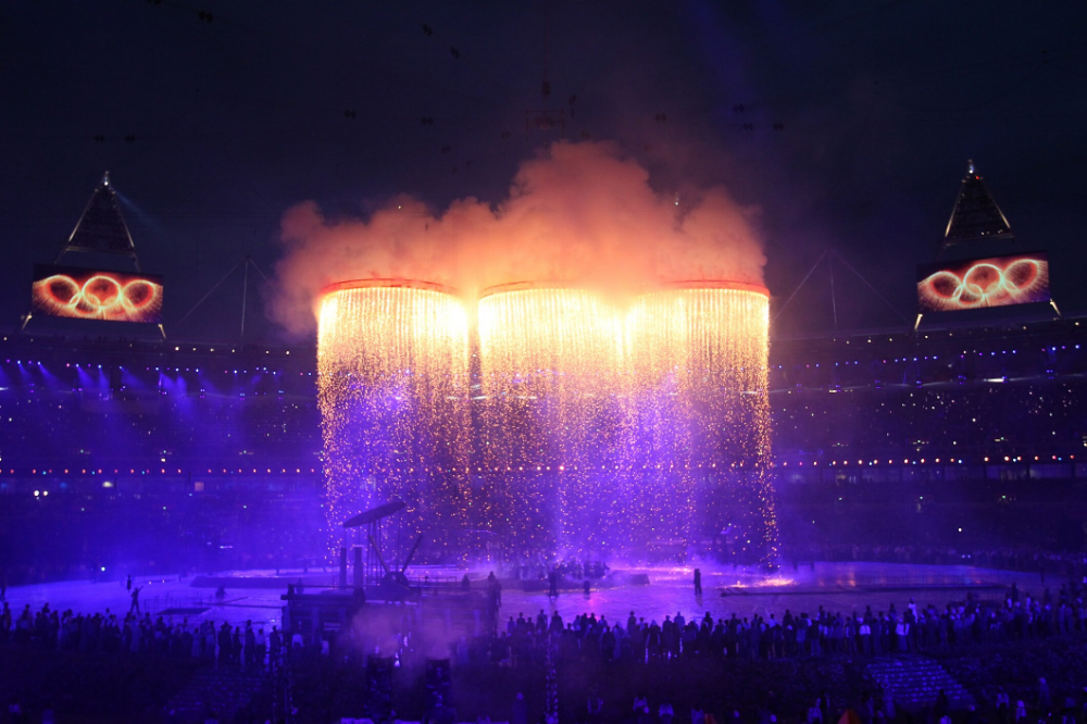 The Opening Ceremonies of the Olympic Games Opening