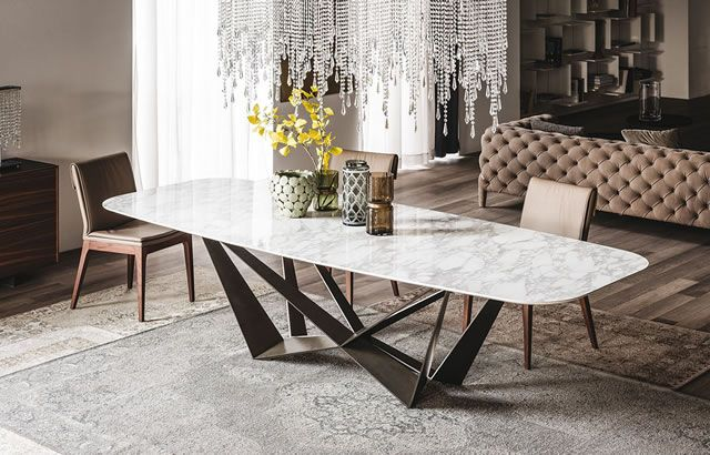 Gorgeous Marble Dining Table Now Showing At Rosenthal Interiors