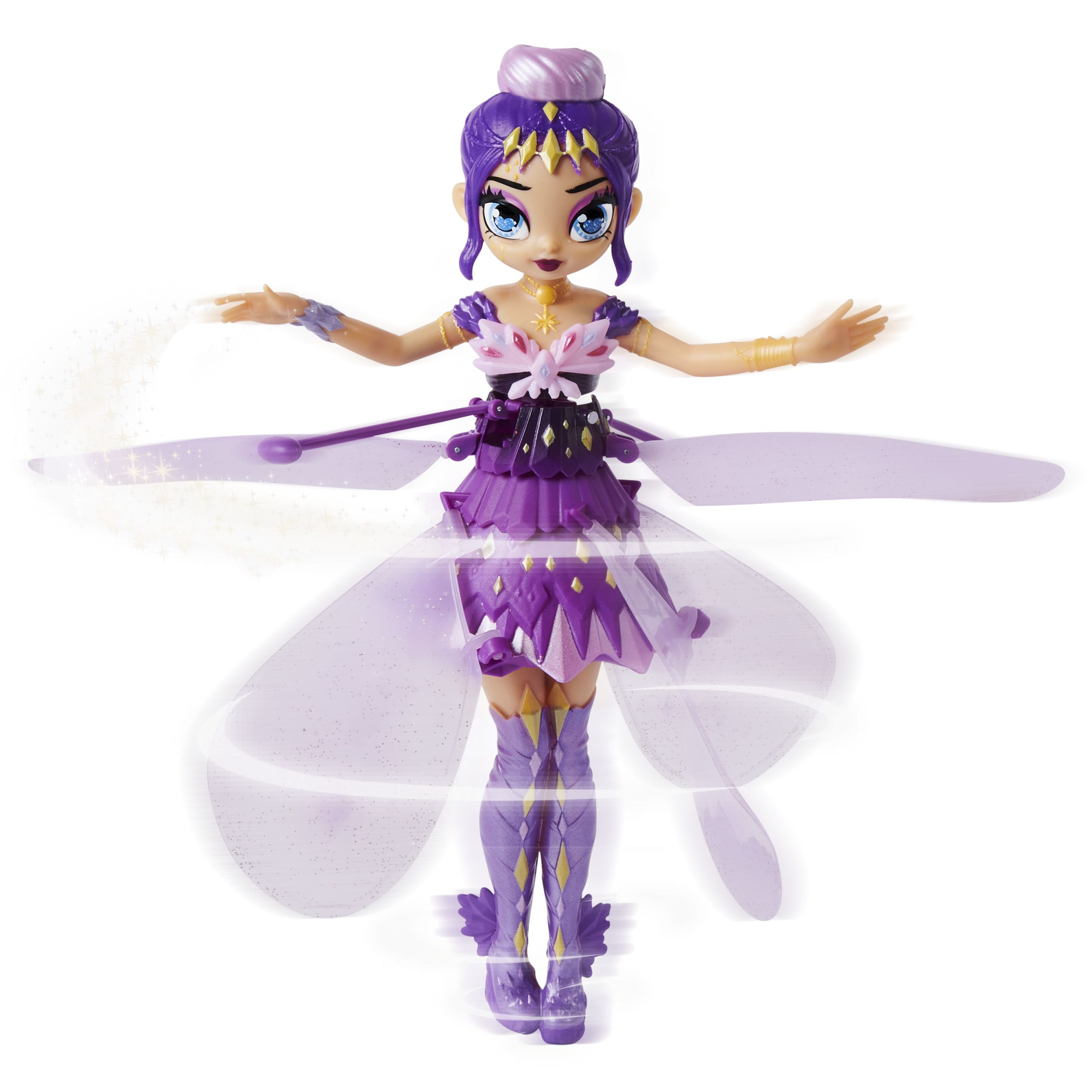 Hatchimals Pixies Crystal Flyers Purple Magical Flying Pixie Toy For Kids Aged 6 And Up Walmart Com Pixie Girl Hair Colors Hatchimals